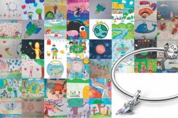 PANDORA(潘多拉珠宝)推出全新限定版吊饰,支持联合国儿童基金会工作
